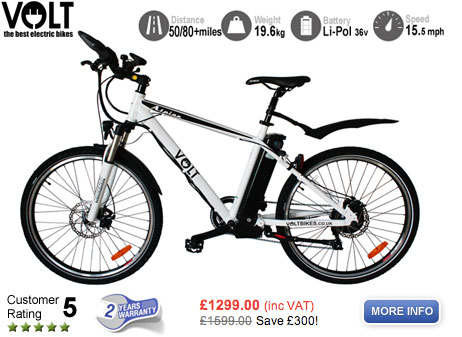 Alpine Electric Mountain Bike