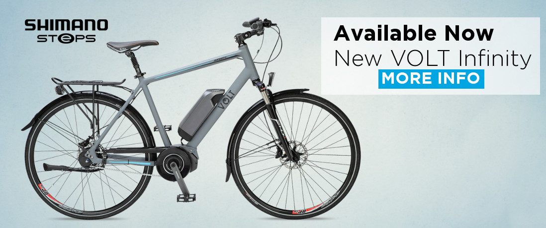 Buy new Volt™ Infinity Steps Bike at Electric Bike Store