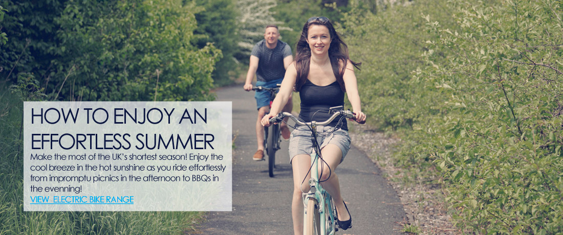 Enjoy the summer with an electric bike