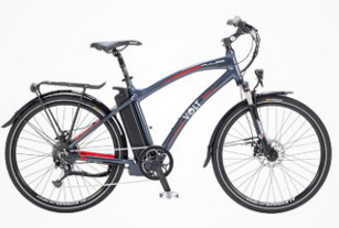 hybrid electric bike range
