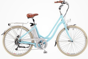 Step Through electric bicycles