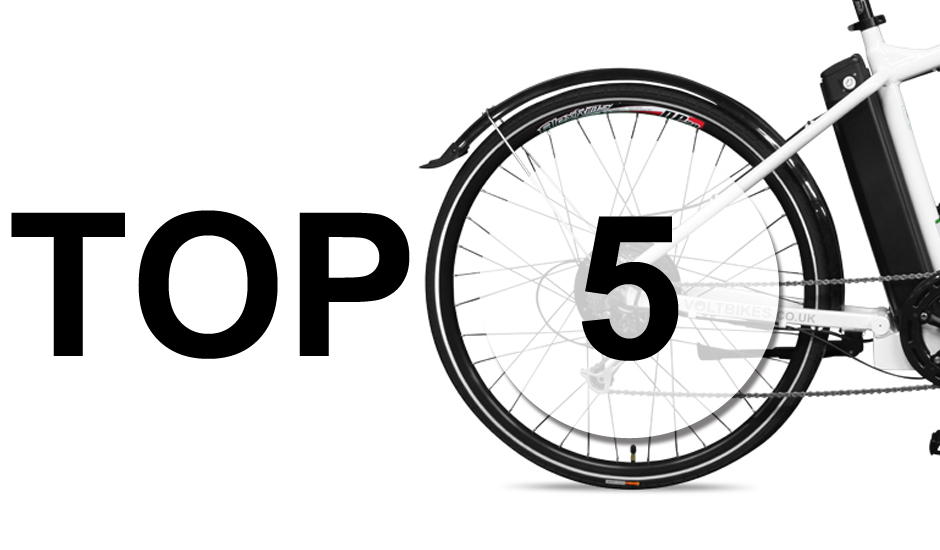 Top 5 Reasons for Buying an Electric Bike