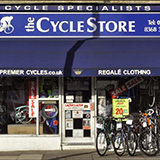 The Cycle Store logo