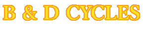 B & D Cycles logo