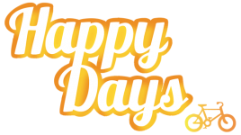 Happydays Cycles logo