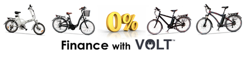 0% Finance on all Volt Electric Bikes