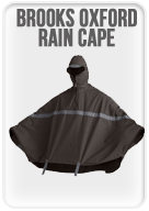 Brooks Oxford Rain Cape