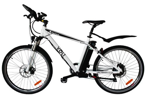 New volt alpine electric mountain bike