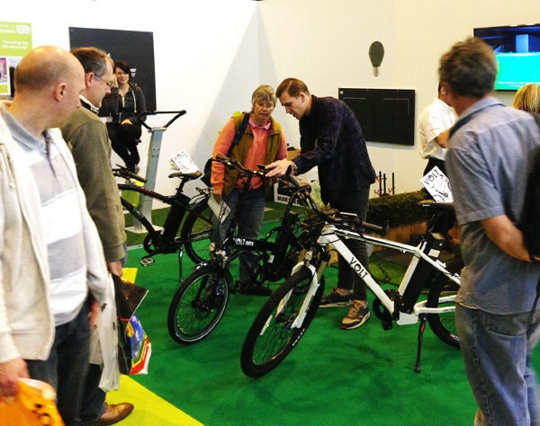 Electric Bike Store at Grand Designs Live
