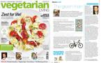Vegetarian Living Magazine feature e-bikes