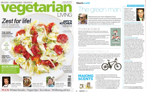 Vegetarian Magazine illustration