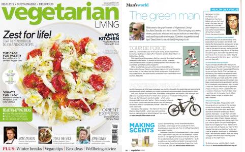 Vegetarian Magazine illustration